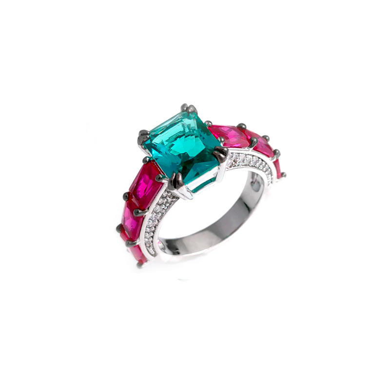 Pretty Custom 925 Sterling Silver Rings for Woman 104635