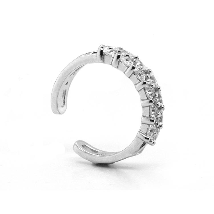 Charming 925 Sterling Silver CZ Rings for Woman 102133