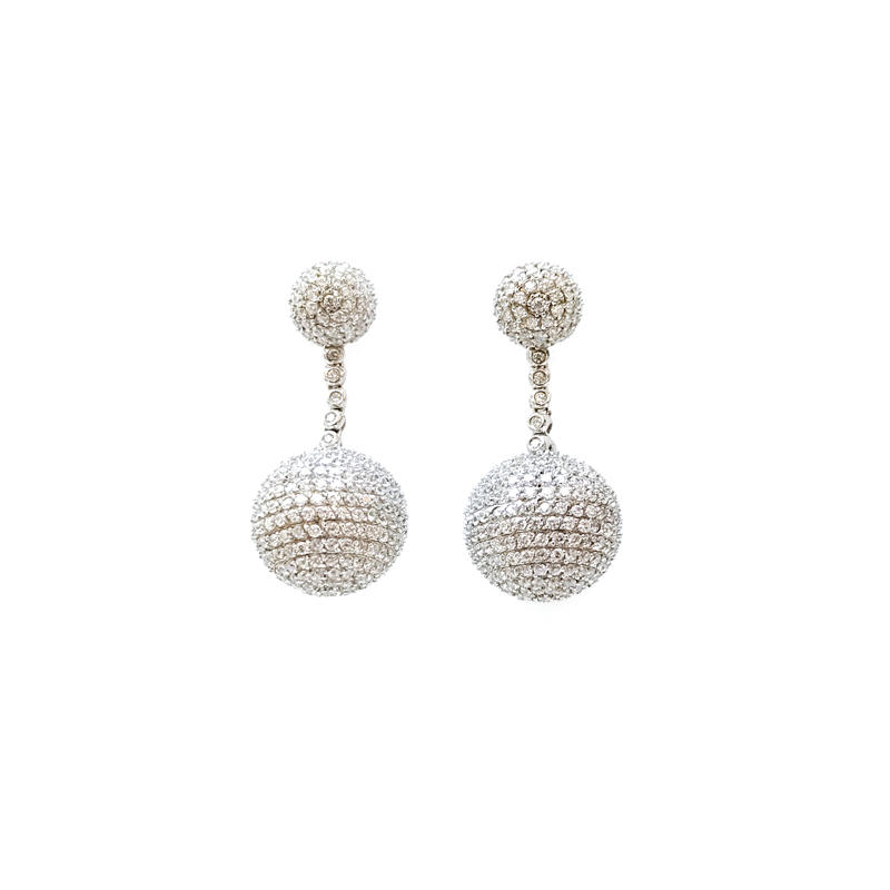 Bling 925 Sterling Silver Earrings for Woman 32447