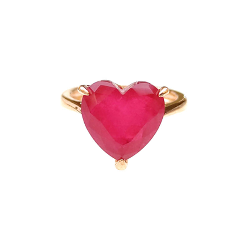Love 925 Sterling Silver Heart Rings for Woman 86044RW