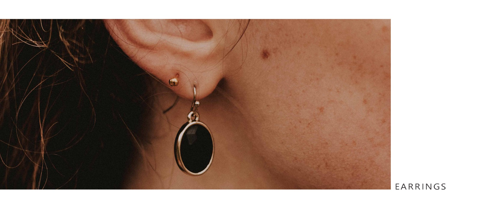 product-925 Sterling Silver Cats Eye Stone Earrings with Gold Plated for Ladies 86242EW-Kirin -img