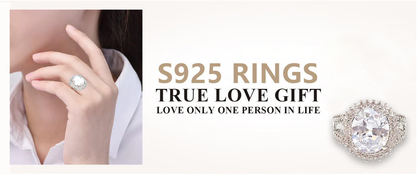 High-quality solid silver rings for women circle inquire now-1