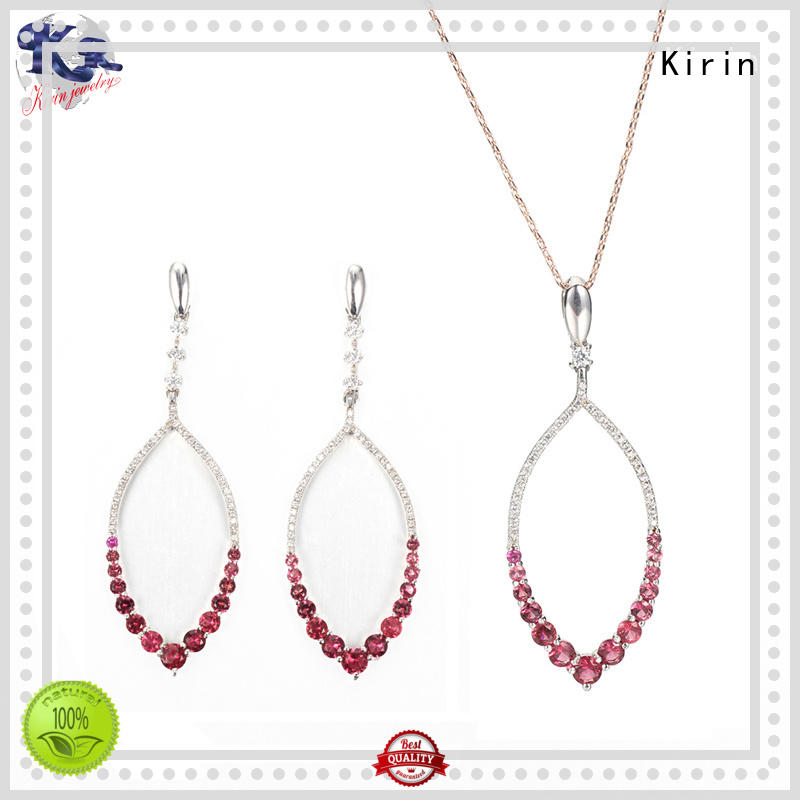 Kirin charm silver necklace set for business for family