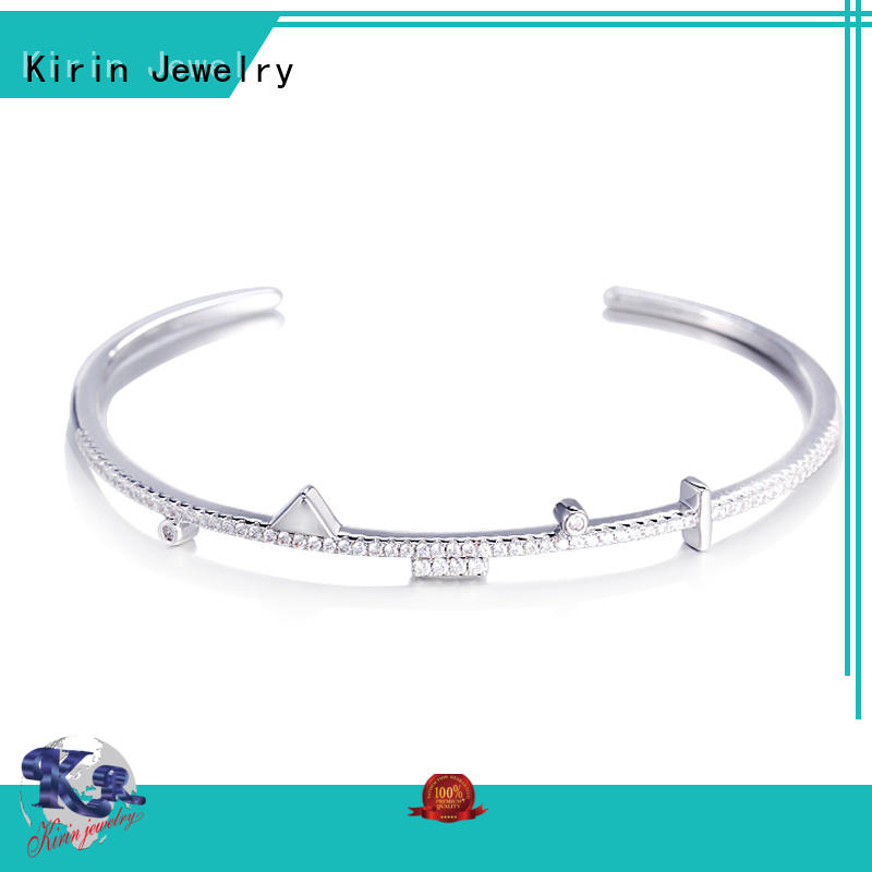 Kirin alluring pave setting jewelry China manufacturer for lover