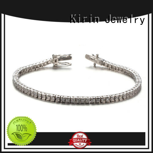 Kirin tennis real silver jewelry factory price for girlfriend