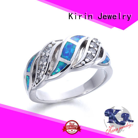 Kirin magnificent ladies sterling silver rings customization for mom