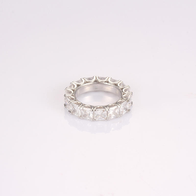 classical 925 sterling ring cz for partner Kirin Jewelry-1