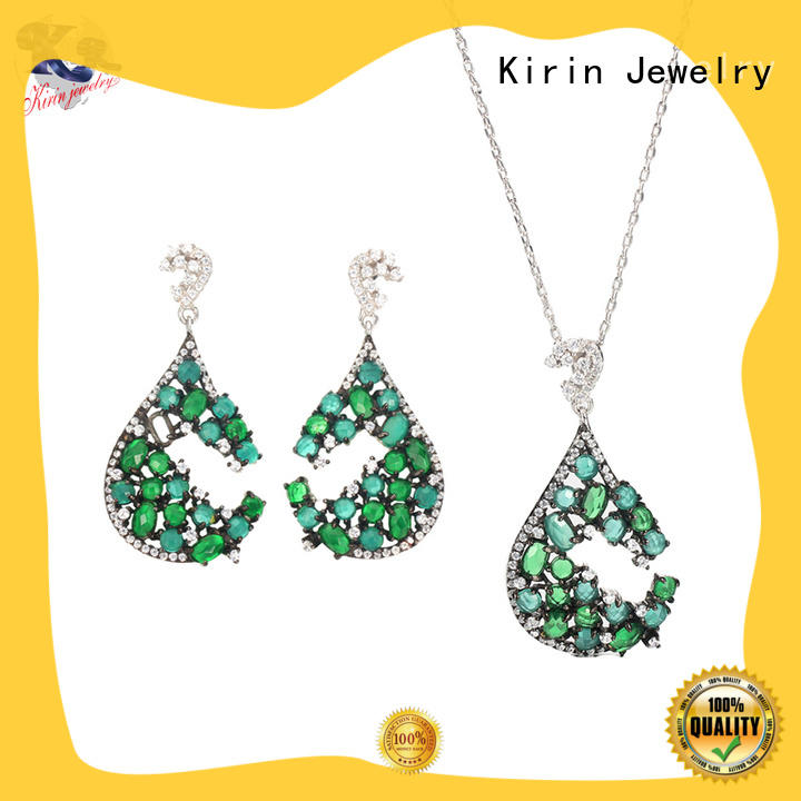 Kirin Jewelry designs necklace bracelet earring sets order now for female