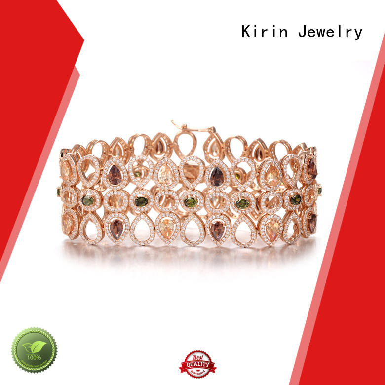 colourful jewellery gold colorful made Kirin Jewelry Brand