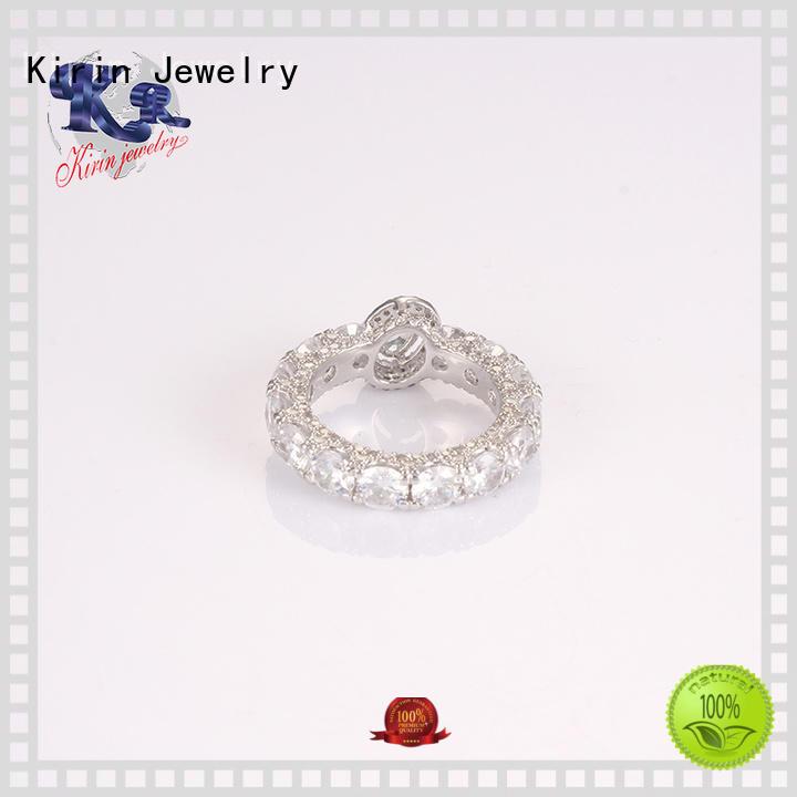 Quality Kirin Jewelry Brand 925 sterling silver jewelry rings silver eternity