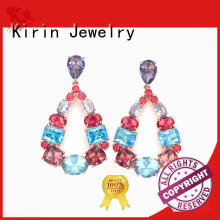 Kirin Jewelry hoop silver stud earrings free quote for woman