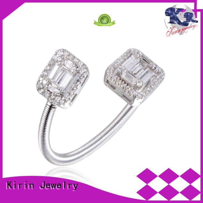 emerald baguette ring channel Kirin Jewelry company