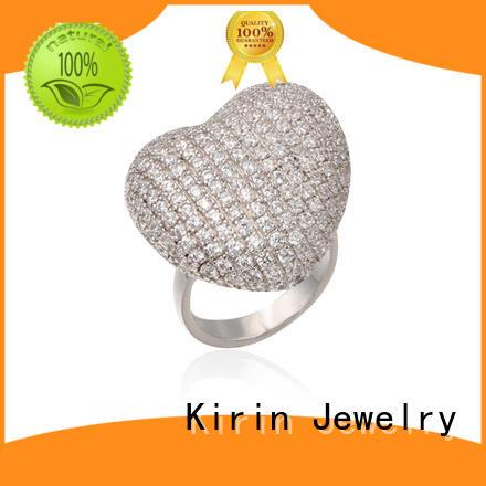 Kirin zirconia wholesale 925 sterling silver jewelry vendor for partner