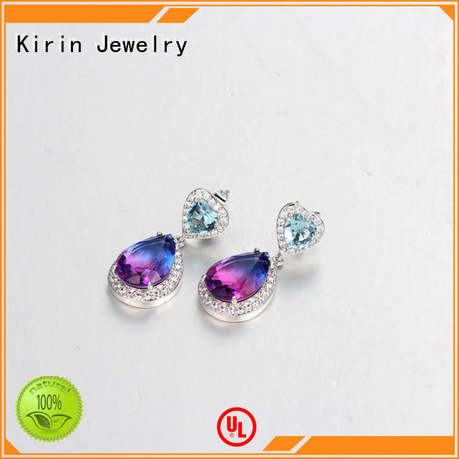 Kirin plated jewelry earrings free quote for female