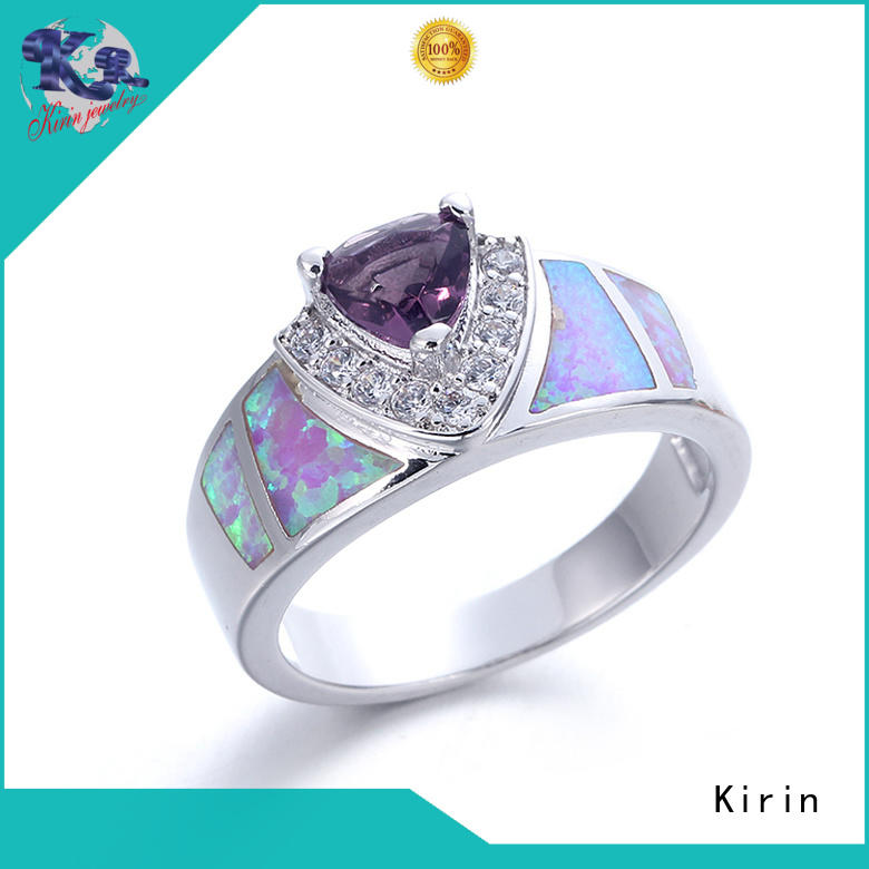 Kirin own sterling silver love ring from China