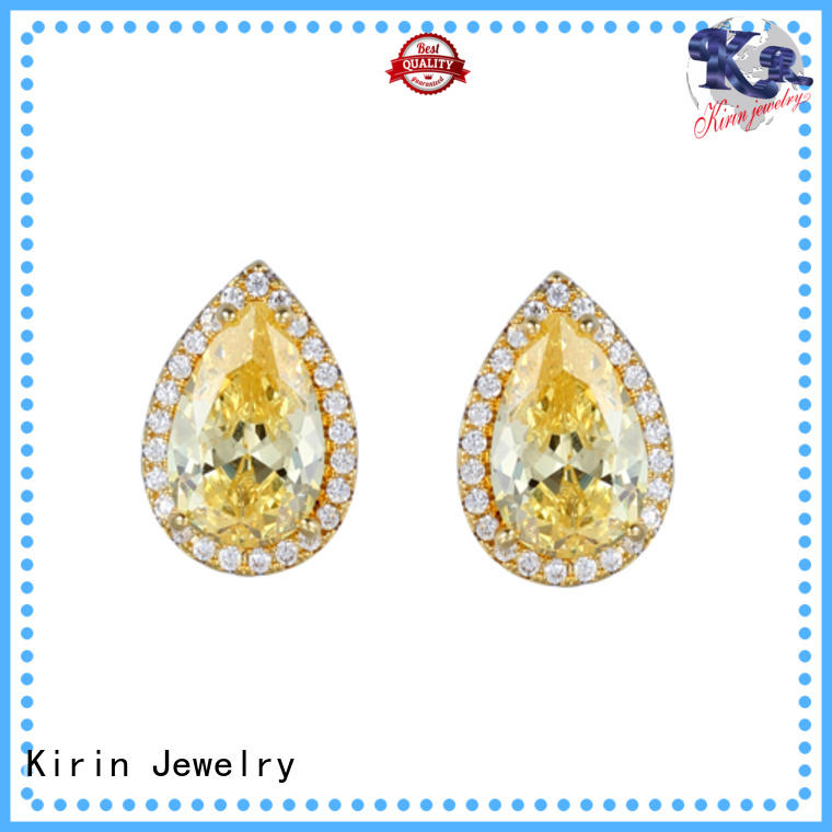 Kirin Best pure silver earrings by Chinese manufaturer for mate