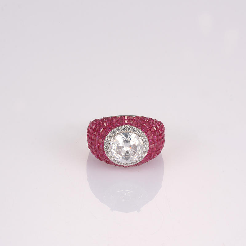 lovely sterling silver rings for sale cz company for girlfriend-1
