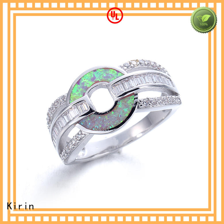 good-package best silver rings cocktail with good price for mom