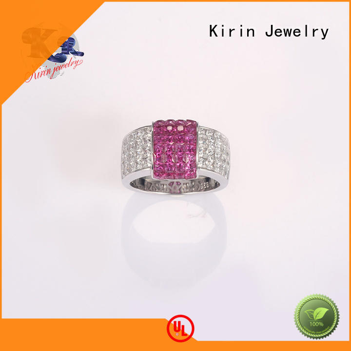 105142 sterling silver fashion rings size for mother Kirin Jewelry