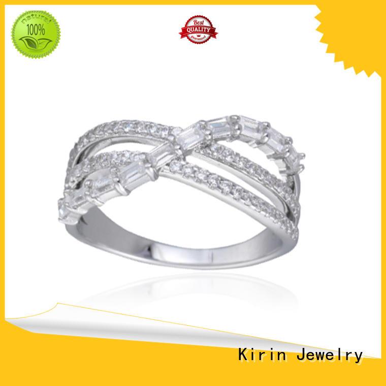 Kirin Jewelry Brand row round serene baguette jewelry