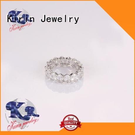 Kirin Jewelry lovely sterling silver solid rings drop for girlfriend