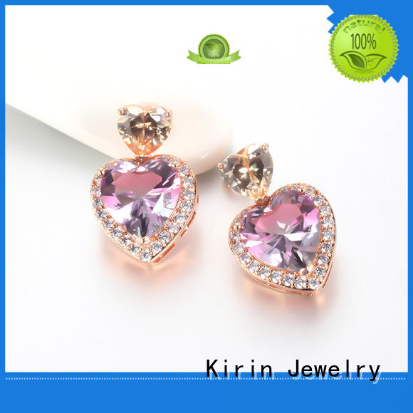 Kirin Jewelry Brand big 925 sterling silver earrings hoop factory