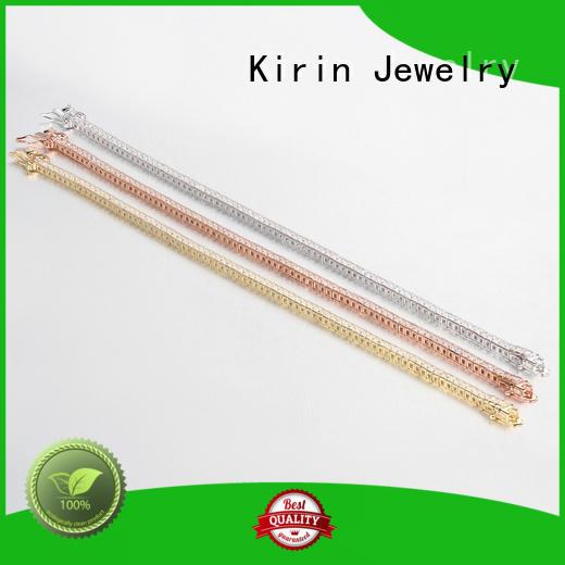 Luxury White Gold Plated Cuff Women Bracelets Sparkle Cubic Zirconia Bangle 60070