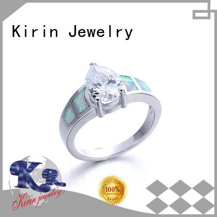 new-arrival ring silver for women gems Supply for family