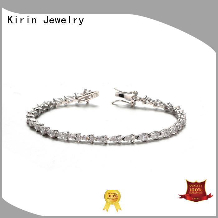 Kirin Jewelry Brand gift silver hand custom simple silver bracelet