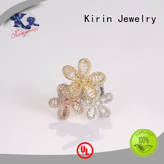 102353 plain silver rings 103569 for lover Kirin Jewelry