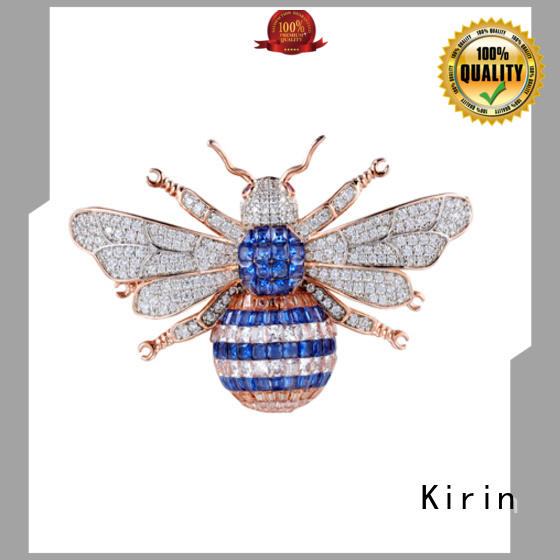 Kirin gold silver pin manufacturers for female