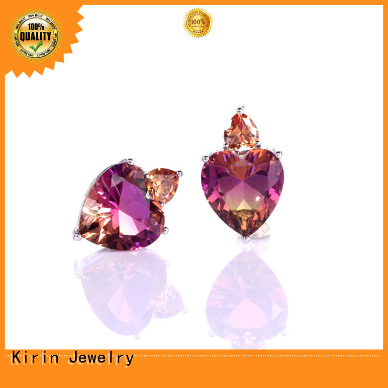 Kirin best sterling silver jewelry earrings bulk production for lover