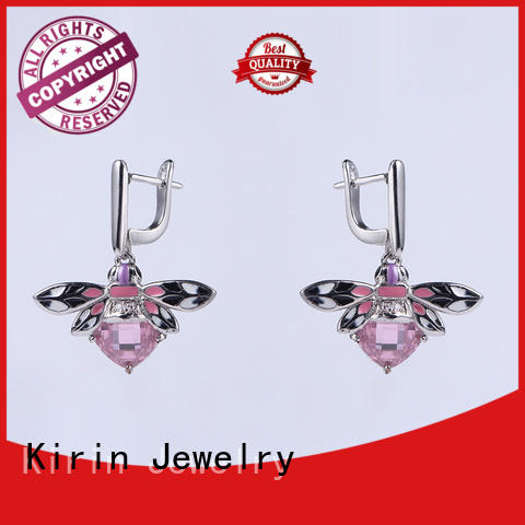 Kirin gorgeous purple and silver jewelry sets free design for girl