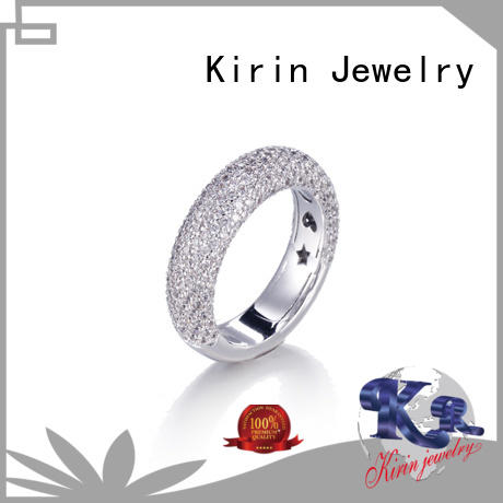 Kirin hot-sale ring ladies silver Supply for family