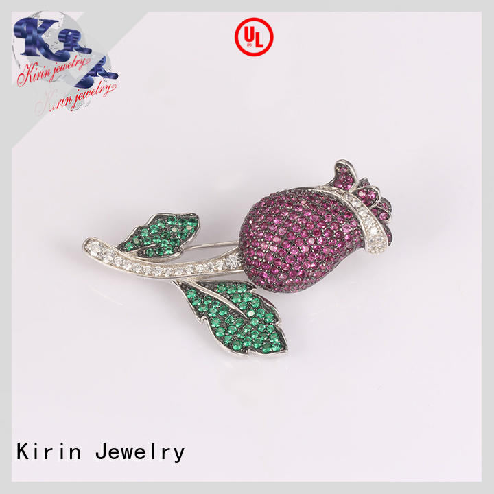 Kirin lovely sterling silver safety pin for business for mate
