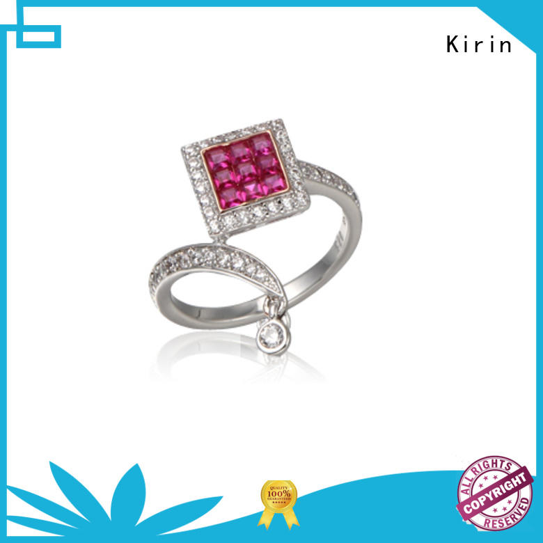 Kirin sterling good quality silver rings customization for family