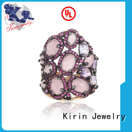 top sterling silver engagement rings simple for lover Kirin Jewelry