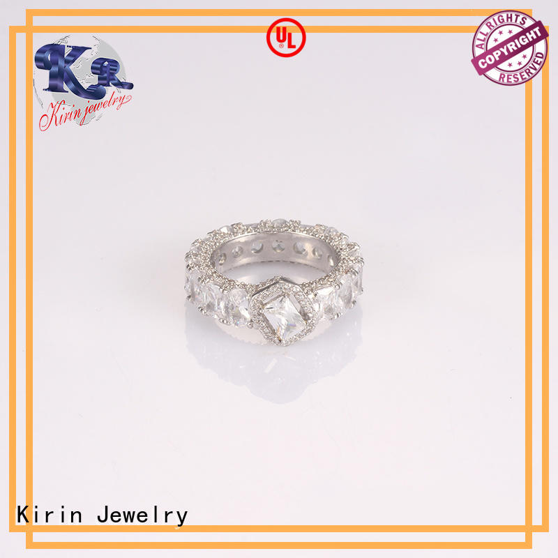 silver28mm quality sterling silver rings factory price for mate Kirin Jewelry