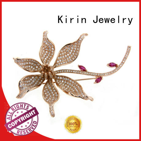 white stone inexpensive silver jewelry Kirin Jewelry manufacture
