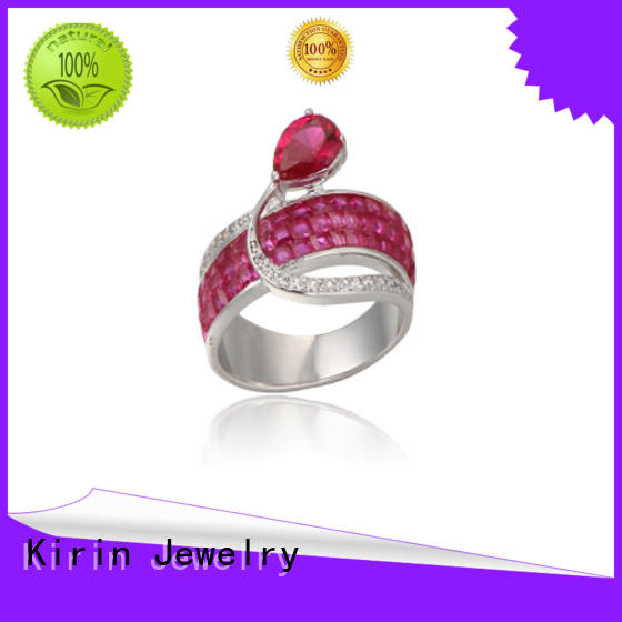 silver28mm ladies plain silver ring 103611 for partner Kirin Jewelry