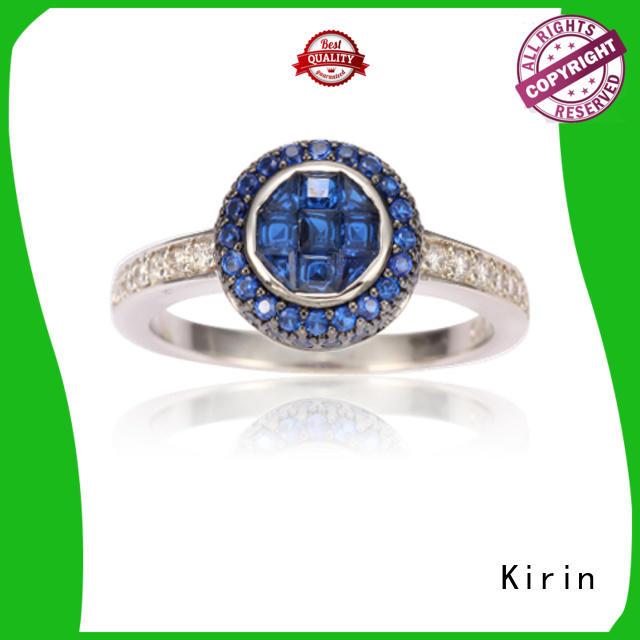 stones silver fashion rings customization for partner Kirin