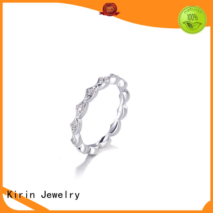 Kirin Jewelry new-arrival sterling silver rose ring from manufacturer for mate