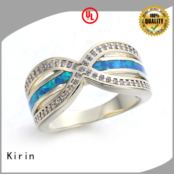 Kirin exquisite simple sterling silver rings at discount for lover