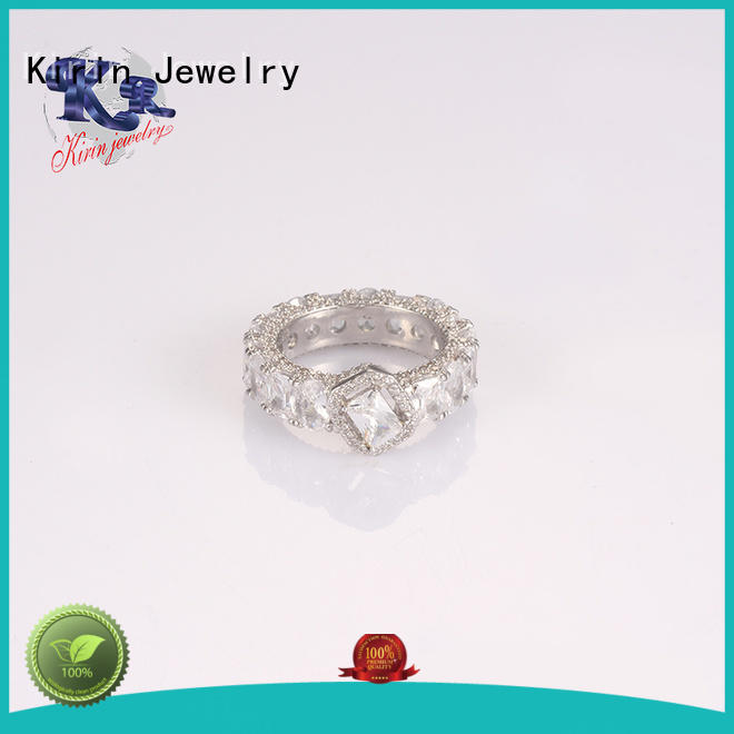 Kirin Jewelry newly sterling silver cz rings lucky for partner