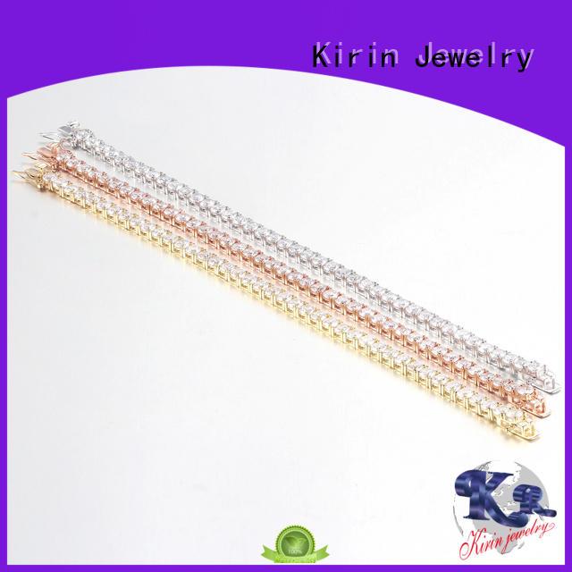 gift endless simple silver bracelet Kirin Jewelry Brand