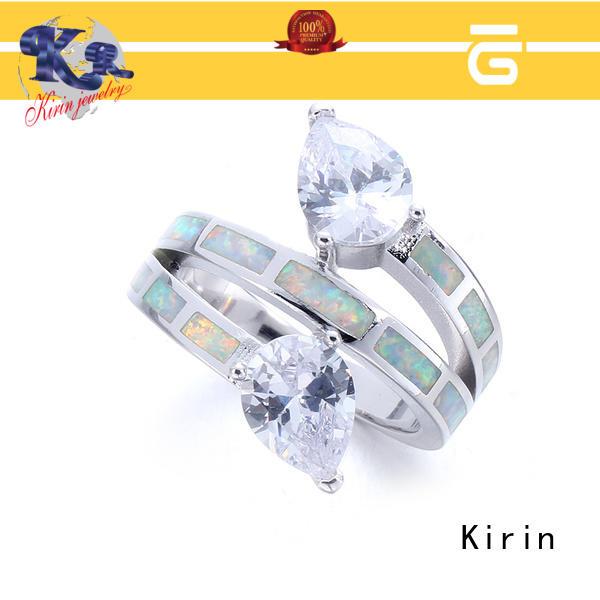 Kirin bulk real opal rings bulk production for lover