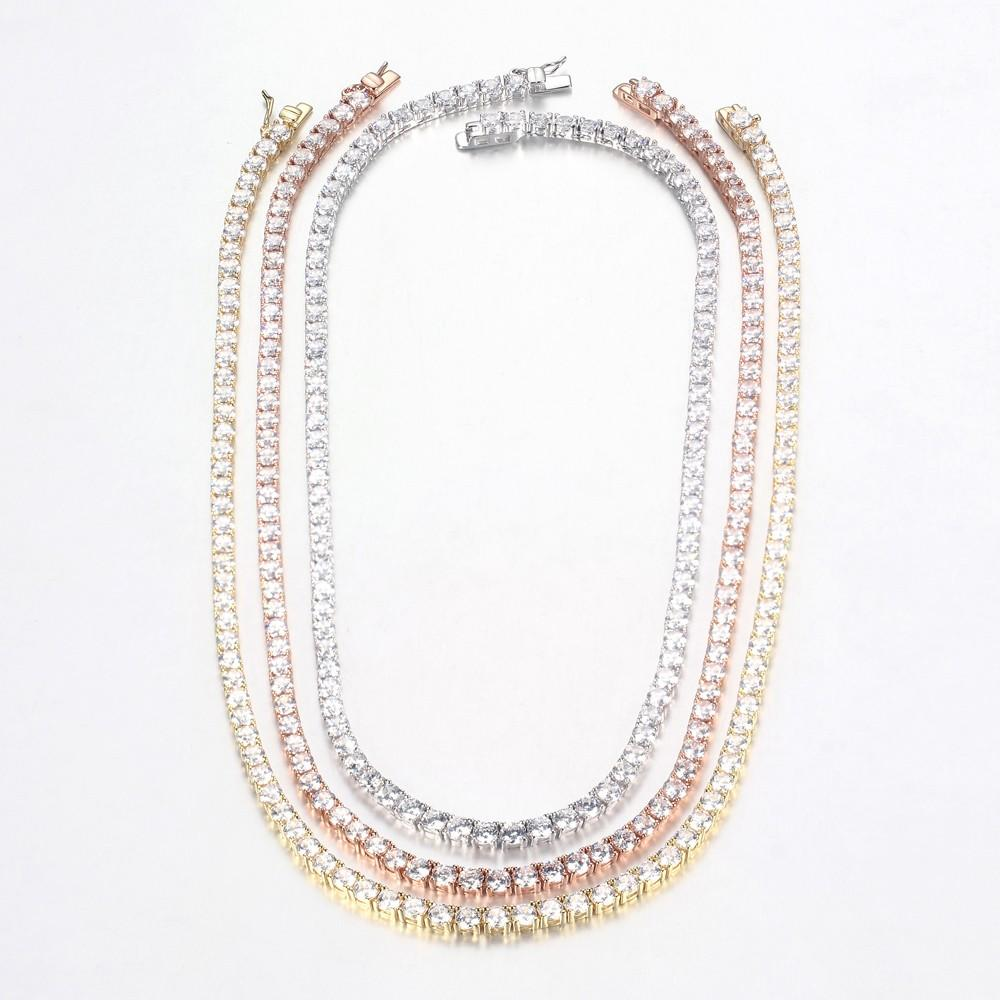 Kirin tennis 925 silver necklace from China for partner-1