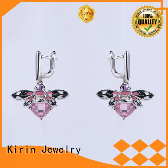 Kirin Jewelry blue silver set for women factory price for female