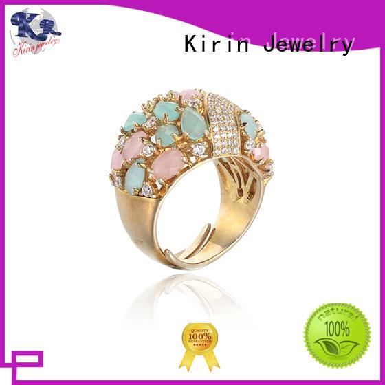 Wholesale romantic 925 sterling silver rings Kirin Jewelry Brand
