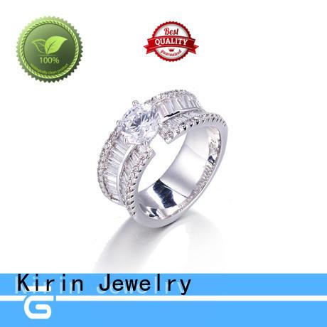 Kirin gorgeous silver earrings baguettecut for mom